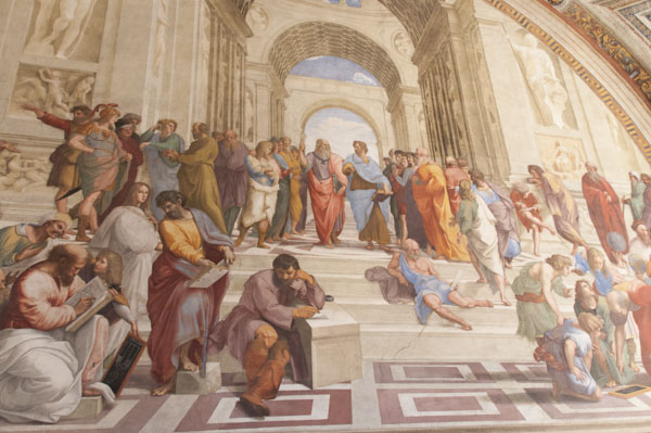 25_Vatikan_Stanzen_Raffael_Philosophenschule_von_Athen