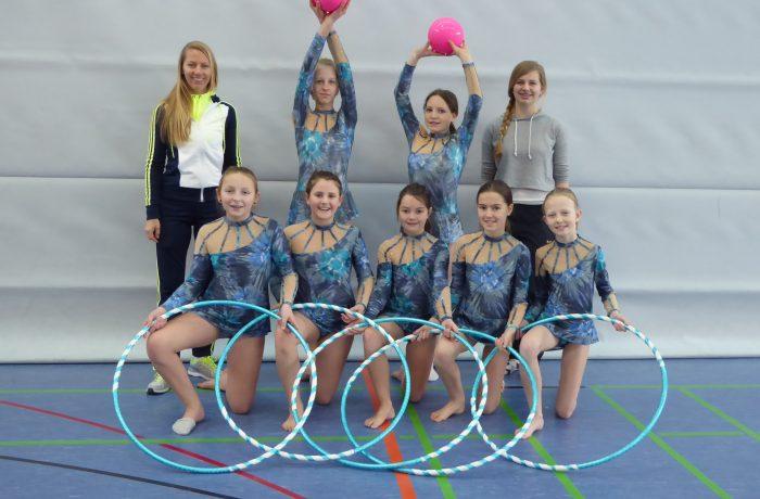 Rhythmische Sportgymnastik und Tanz