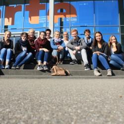 Straßburg-Ausfahrt des Französischkurses der Kursstufe 2