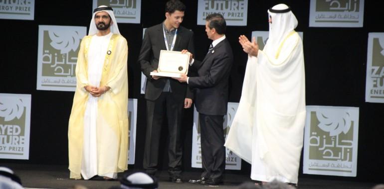 Schüler-Forschungs-Zentrum Südwürttemberg gewinnt Zayed Future Energy Prize
