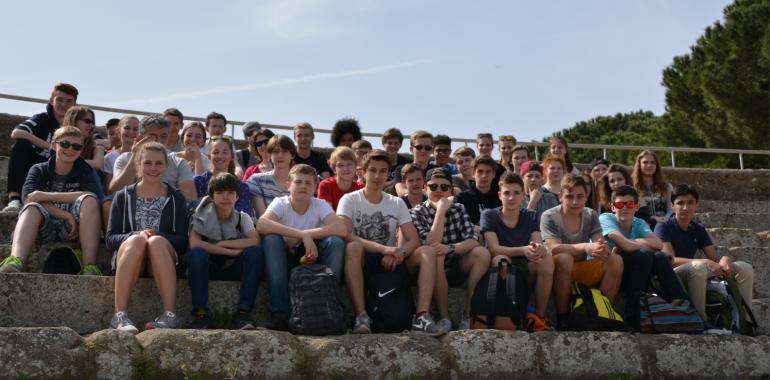 Studienfahrt Rom 2016