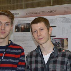 Vier Platzierungen und drei Sonderpreise bei Jugend forscht