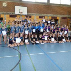 Oberschulamtsfinale Rhythmische Sportgymnastik am 21.02.17