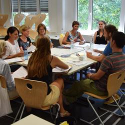 Kooperationsmittag mit Kolleg/-innen der Grundschulen am Gymnasium Überlingen
