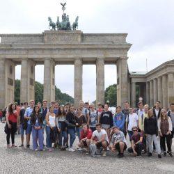 Schüler der Kursstufe 1 auf Studienfahrt in Berlin
