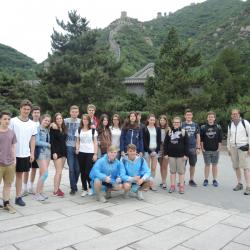 Gymnasium Überlingen zu Besuch an der Shanghai Caoyang Middle School vom 21.5.-5.6.2017