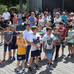 Begegnungsmittag – zukünftige Fünftklässler und deren Eltern schnuppern Gymnasium-Überlingen-Luft