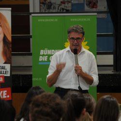 Podiumsdiskussion mit Bundestagskandidaten