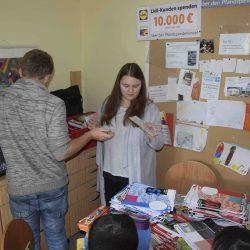 Tafelaktion – Schüler helfen Schülern